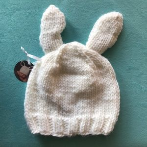 The Blueberry Hill Accessories - The Blueberry Hill Bailey Bunny Hat white  and gray ecd03783b20a